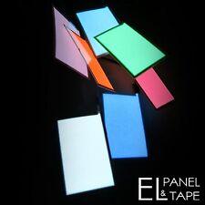 EL Panel Glowing Eyes for Iron Man or Green Lantern 3cm x 5cm £2.99 each