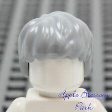 HAIR Lego F007 Female Long Straight Lt Bluish Gray NEW Genuine Lego Unisex Boy