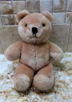 "Dakin 1985 Beige Plush Teddy Bear 6"" Tall"