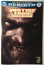 JUSTICE LEAGUE OF AMERICA #1 / LOBO FRANCESCO MATTINA B&W VARIANT / DC COMICS