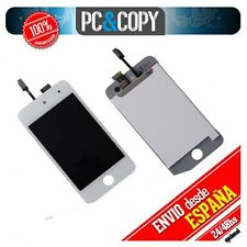 PANTALLA LCD COMPLETA IPOD TOUCH 4 4G LCD SCREEN DISPLAY DIGITALIZADOR BLANCO A+