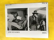 Jimi Hendrix Press Photo 8x10�, With Father & Sister, Mca.