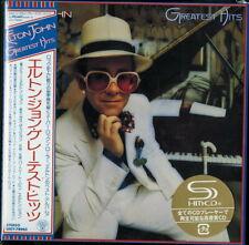 ELTON JOHN-GREATEST HITS-JAPAN MINI LP SHM-CD Ltd/Ed G00