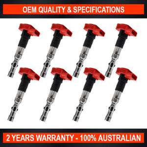 8-Pack OEM Quality Ignition Coil for Volkswagen Touareg 4.2 V8 4Motion Phaeton