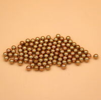 1/4'' Inch ( 6.35mm ) 500PCS Solid Brass Bearing Balls (H62)
