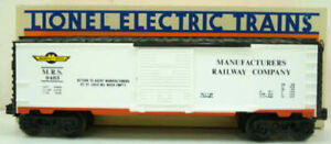 Lionel 6-9483 Manufacturers Railway Boxcar LN/Box
