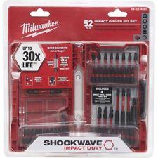 Milwaukee 48-32-4060 Shockwave 52-Piece Impact Screwdriver Bit Set