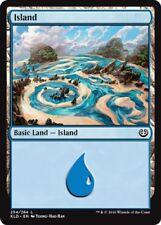 4 x Island (254/264) - Kaladesh - Magic the Gathering MTG Basic Land
