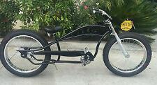 Seattle Stretch Beach Cruiser 26 x4.0 Fat Tire snow bike Black