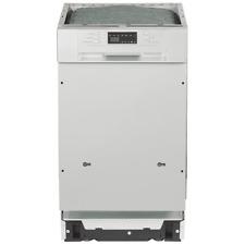 PKM Einbau Geschirrspüler Spülmaschine teilintegriert silber Edelstahl 45 cm A+