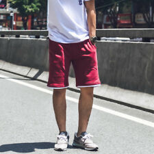 Simple Fashion Five Pants For Men - Wine Red (CHG071437)