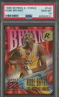 Kobe Bryant 1996-97 Skybox Z Force rookie PSA 10 Gem Mint Super Rare Hot Invest