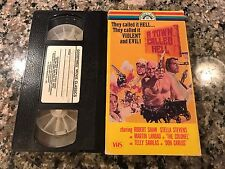 A Town Called Hell VHS! 1971 Manhunt Mexican Action! Bad Mans River Land Raiders