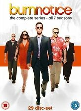 Burn Notice Complete Series Collection 1-7 DVD Box Set Seasons 1 2 3 4 5 6 7 New