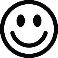 ADESIVO STICKERS DECAL SMILE EMOTICON FACCINE AUTO MOTO BICI CASCO FUNNY HAPPY