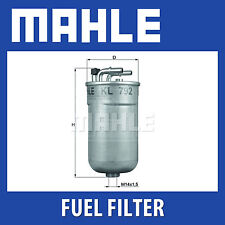 MAHLE Filtro Carburante-kl792-KL 792-Genuine Part-si adatta a Opel e Vauxhall