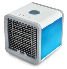Portable Mini Air Conditioner Air Cooling Fan With LED Lights USB Air Desk Fan