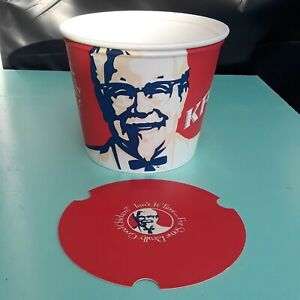 1990s KFC Bucket Kentucky Fried Chicken Vintage Bucket with Lid