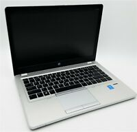 "HP 14"" EliteBook Folio 9480m Intel i7-4600U 2.10GHz 8GB RAM 128GB SSD Win10 PRO"