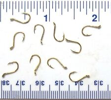 100 GT Top Quality Gold Salmon Egg Fish Fishing Hooks size 12