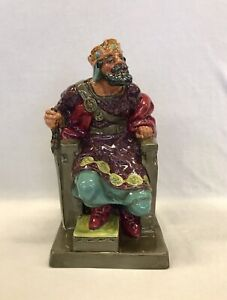 """Original Royal Doulton Figurine """"The Old King"""" HN.2134 Marked RP"""