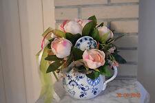 Deko Blumen Kunstliche Pflanzen Mit Pfingstrose Gestecke Gunstig