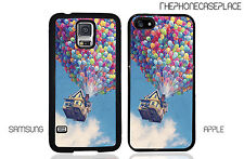Disney Pixar UP Balloon House Phone Case for Apple or Samsung Phone Case Cover