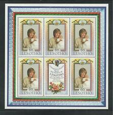 LESOTHO # 380 MNH BIRTH OF PRINCE WILLIAM, HEIR TO THE THRONE