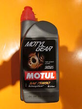 Motul Motylgear 75W-90 Synthetic Gearbox and differential lubricant - 1L