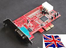 Serial  x1 PCIe PCI Express 1S LP Low Profile w/Power