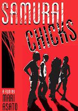 Samurai Chicks DVD UNRATED Subtitled Raf - NEW