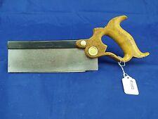 """Richardson 8"""", 16 PPI X-Cut Back Saw, Sharpened & Tuned, (inv1032)"""