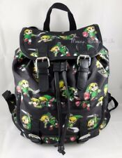 New Nintendo The Legend Of Zelda Windwalker LINK Backpack Slouch Buckle Book Bag