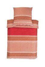 Linge de lit et ensembles rouge en satin, 200 cm x 200 cm