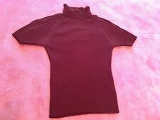 Turtleneck Short Sleeve Top Size S &25% OFF if you buy 5 items I sell !