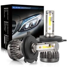2PCS H4 120W 20000LM COB LED Car Headlight Kit Hi/Lo Beam Light Bulb White 6000K