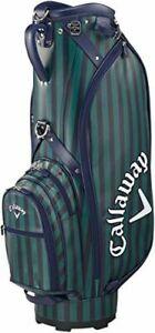 2018 model Callaway STYLE STRIPE Caddy bag stand type men's 5118355 navy