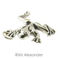 925 Sterling Silver Frog Charm