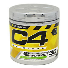 C4 Pre-Workout Explosive Energy Fruit Punch 30 Servings