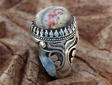 orient silber Afghanistan Onyx-Marmor statement ring Onyx Marble  Nr:17/433