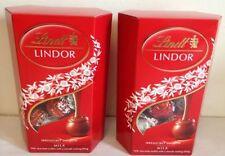 Lindt Lindor Lait Cornet 2 Boîtes Cadeaux de Noël