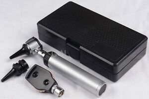 ENT Ophthalmoscope Opthalmoscope Otoscope Diagnostic Set Led Light Ce