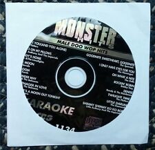 MALE DOO WOP HITS KARAOKE CDG MONSTER HITS PLATTERS, DELLS CD+G MH1134