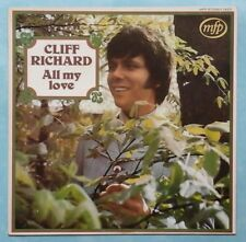 CLIFF RICHARD / SHADOWS ~ ALL MY LOVE ~ 1970 UK 12-TRACK STEREO VINYL LP REISSUE