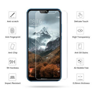 Tempered Glass Screen Protector For Huawei PSmart 2019 P20 P30 P40 Lite Pro