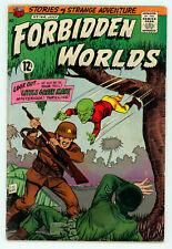 JERRY WEIST ESTATE: FORBIDDEN WORLDS #133 (VG-) & 144 (VG) (ACG 1966-67) NR