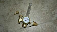 New Everlast argon CO2 Flow Meter Regulator Mig Tig Flowmeter Welding Gauge