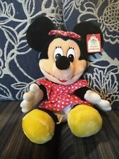 New listing Vintage Minnie Mouse 80s, Disney World, Disneyland, Plush Toy. Large with tag.