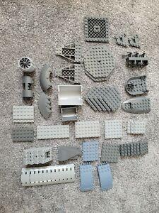 Lego Official Various Grey Colour Pieces MOC Bundle Joblot
