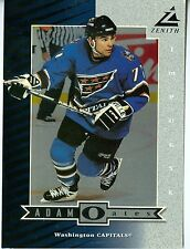 Adam Oates 1997-98 Pinnacle Zenith 5x7 Washington Capitals #Z41- Silver Impulse